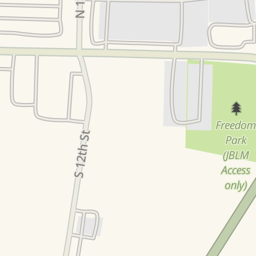 Waze Livemap - Driving Directions to JBLM Housing Services Office