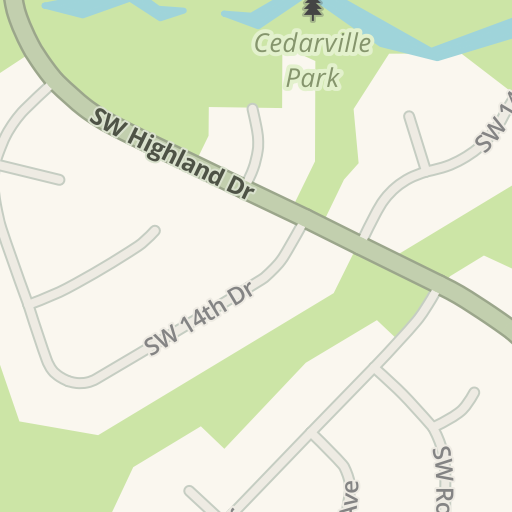 Waze Livemap Driving Directions To Cedarville Lodge Gresham