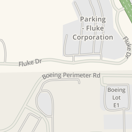 Driving Directions to Parking - Fluke Corporation, Everett