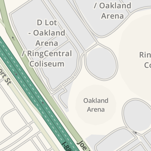 Waze Livemap - Driving Directions to Oracle Arena / Coliseum ...