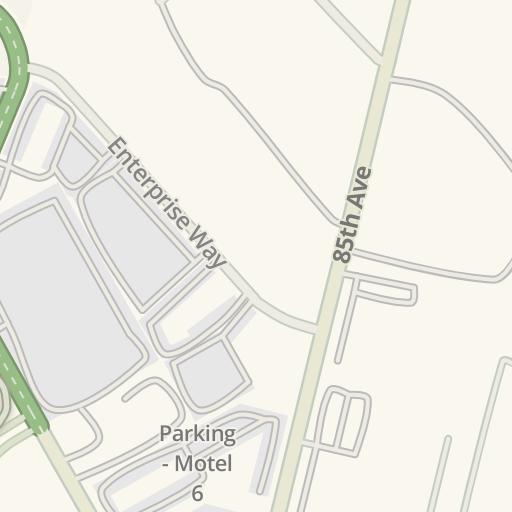 Waze Livemap - Driving Directions to Oakland Coliseum - B Lot ...