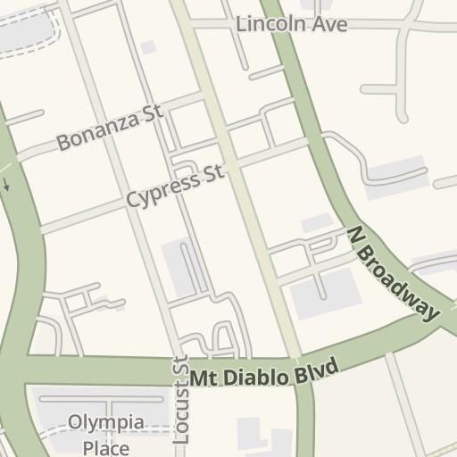 Waze Livemap - Driving Directions to Kaiser Walnut Creek ... on kaiser california map, kaiser redwood city map, kaiser san leandro map,