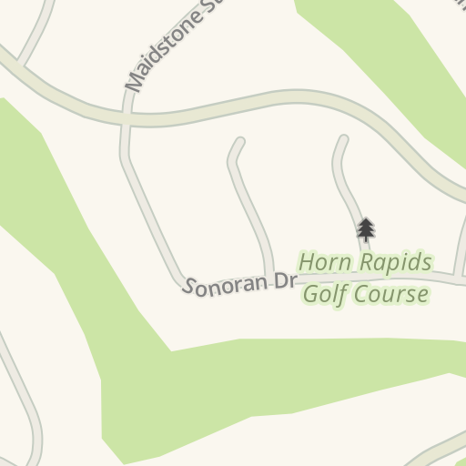 Waze Livemap - Driving Directions to Horn Rapids Golf Course