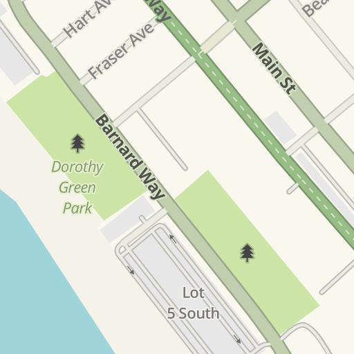 Waze Livemap - Driving Directions to Dorothy Green Park, Santa ...