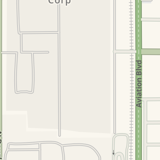 Raytheon El Segundo Campus Map.Waze Livemap Driving Directions To Raytheon Bldg R7 El Segundo