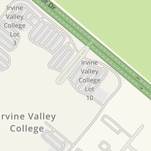 Waze Livemap - Driving Directions to Irvine Valley College, Irvine ...