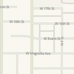 Waze Livemap   Driving Directions To Crest Chevrolet, San Bernardino,  United States