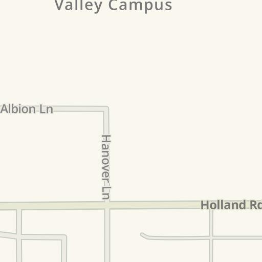 Waze Livemap Driving Directions To Mt San Jacinto College