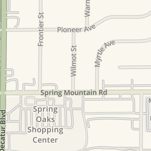 Waze Livemap - Driving Directions to Direct Beauty Supply, Las Vegas