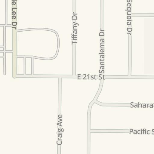 Waze Livemap Driving Directions To Parking Buck Miller Hann