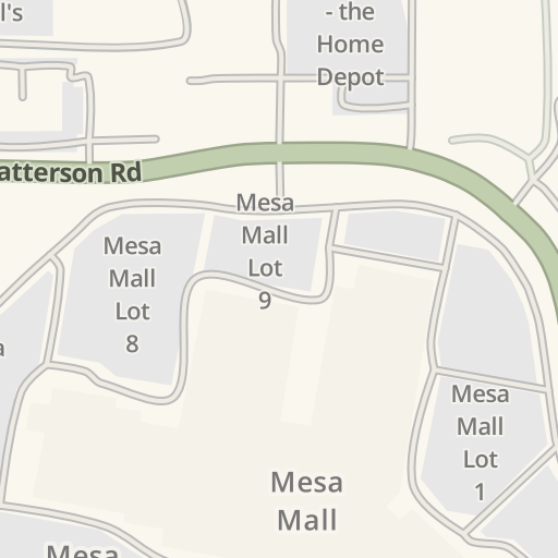 Waze Livemap Driving Directions To Mesa Mall Lot 7 Grand Junction