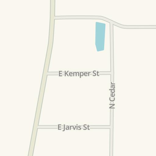 Waze Livemap - Cómo llegar a Purina Mills, Lubbock, United States