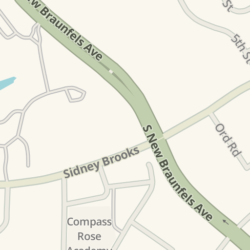 Waze Livemap - Driving Directions to Compass Rose Academy, San ...
