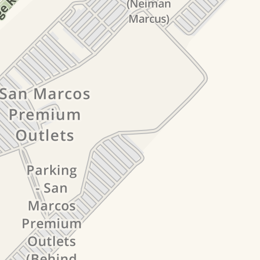 Waze Livemap - Driving Directions to Parking - San Marcos Premium ...