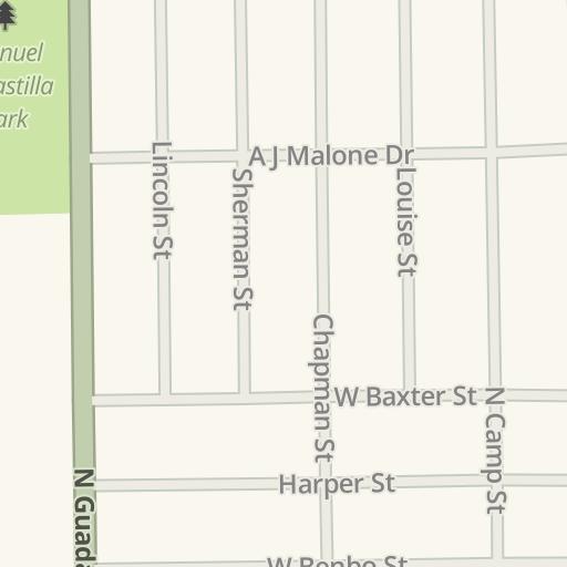 Waze Livemap Driving Directions To Seguin Chevrolet Seguin