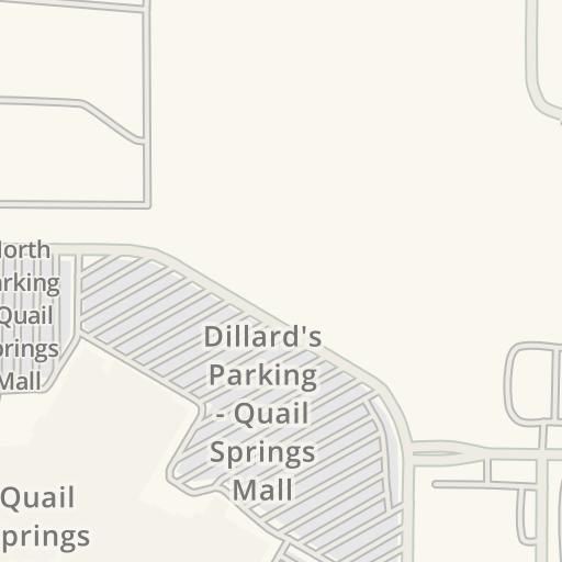 Quail Springs Mall Map on