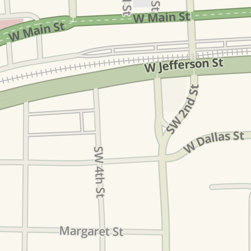 Waze Livemap Driving Directions To Texas Trust Credit Union Grand