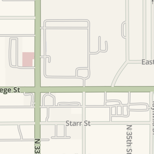 Waze Livemap Driving Directions To Warehouse 1 Unl East Campus