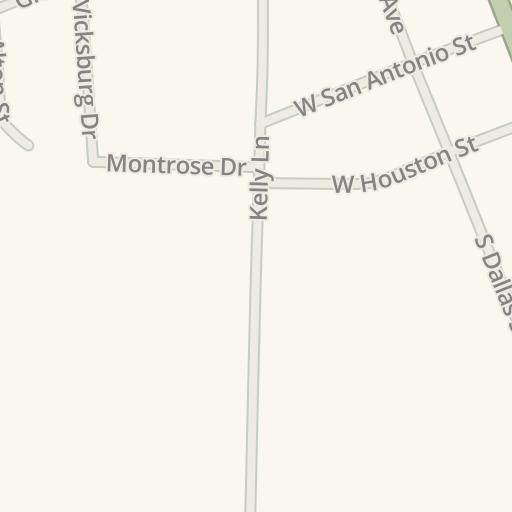 Waze Livemap Driving Directions To El Patio Escondido Mexican