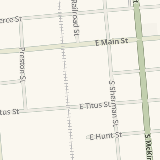 Waze Livemap Driving Directions To Mexia Civic Center Mexia