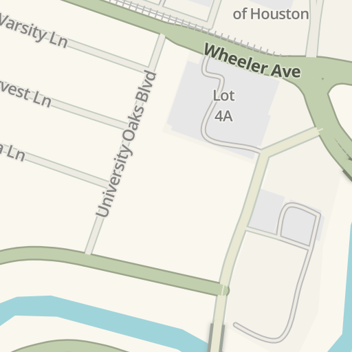 Waze Livemap Driving Directions To Cameron Building University Of