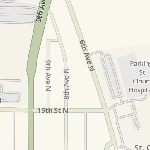 Waze Livemap - Driving Directions to EMERGENCY ROOM - St Cloud ... on