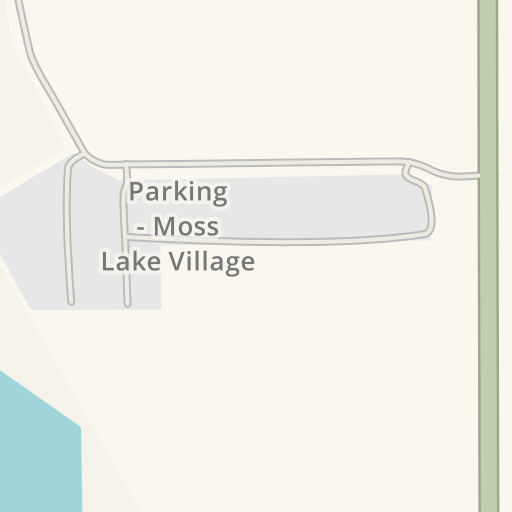 Driving Directions to Parking - Moss Lake Village, Sulphur