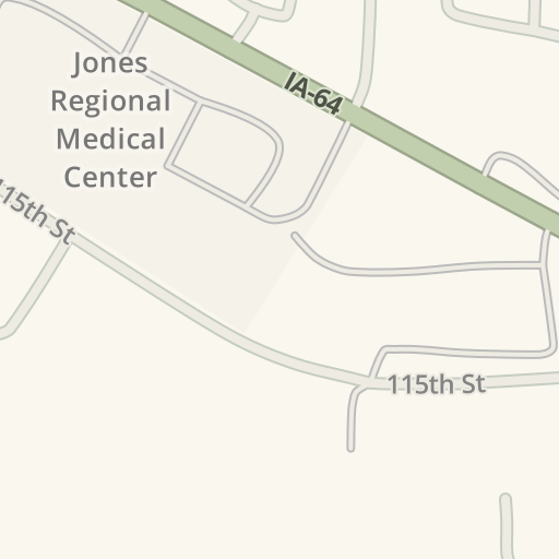 Waze Livemap Driving Directions To Unitypoint Clinic Urgent Care