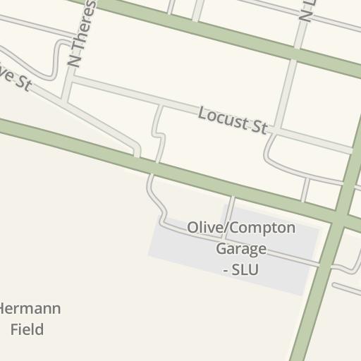 Waze Livemap Driving Directions To Saint Louis University St - St-louis-us-map