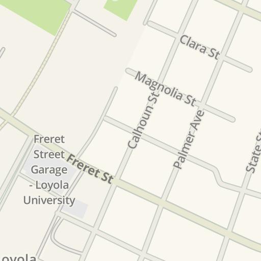 Waze Livemap - Driving Directions to Monroe Hall - Tulane University ...