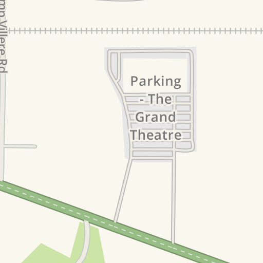 Waze Livemap Driving Directions To Parking The Grand Theatre