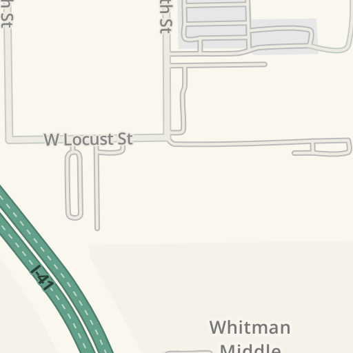 Waze Livemap - Driving Directions to Pizza Man Tosa, Wauwatosa ...