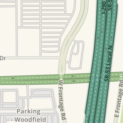 Waze Livemap - Driving Directions to Woodfield Mall Lot E