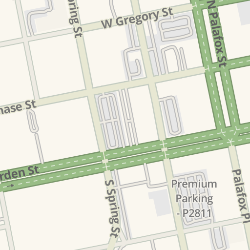 Waze Livemap Driving Directions To West Florida Public Library