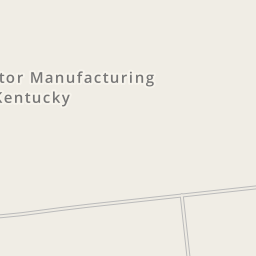 Waze Livemap   Driving Directions To Toyota Motor Manufacturing Kentucky,  Georgetown, United States