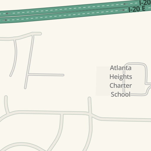 Waze Livemap Driving Directions To Cole Electric Services Atlanta United States