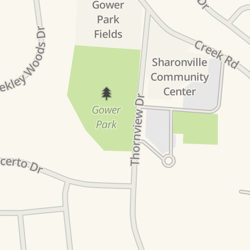 Waze Livemap - Driving Directions to Liberty Sharonville