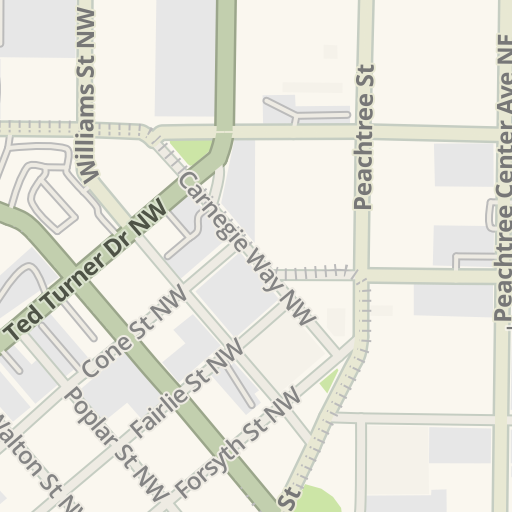 Americasmart Atlanta Map.Waze Livemap Driving Directions To Americasmart Building 2 Parking