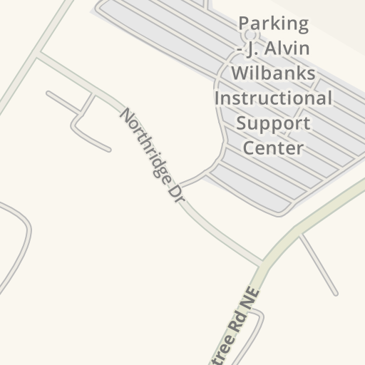 Waze Livemap Driving Directions To J Alvin Wilbanks Instructional