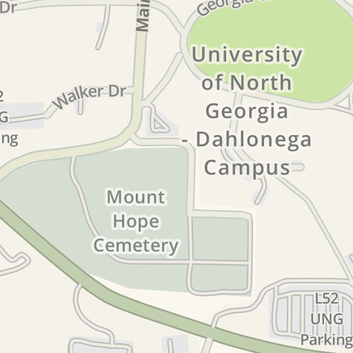 Waze Livemap Driving Directions To Hoag Student Center Ung
