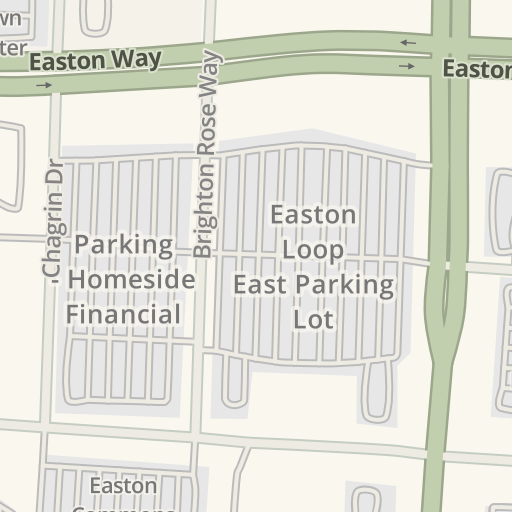 Waze Livemap Driving Directions To Easton Town Center North
