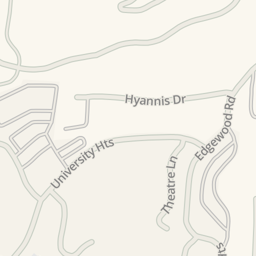 Waze Livemap - Driving Directions to UNCA governors Hall, Asheville ...