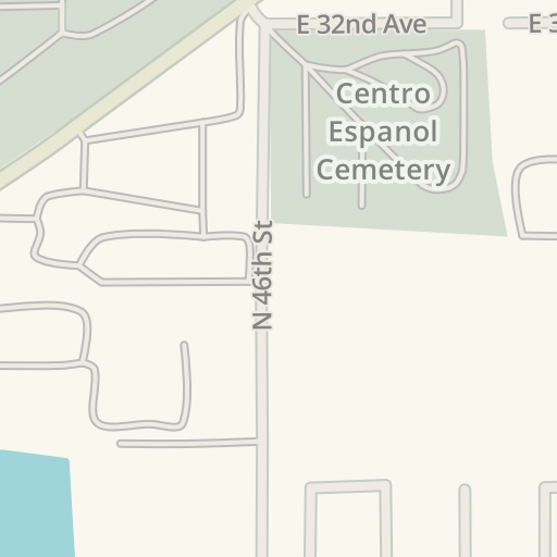 waze livemap driving directions to garden of memories funeral home tampa united states - Garden Of Memories Tampa