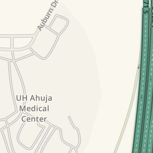 Waze Livemap - Driving Directions to UH Ahuja Medical Center