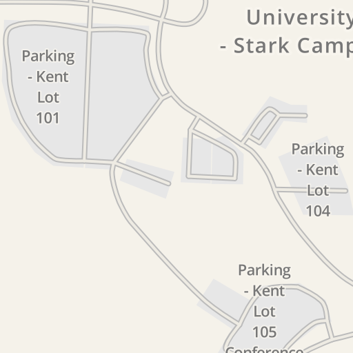 Kent State Stark Campus Map.Waze Livemap Driving Directions To Kent State Stark Library