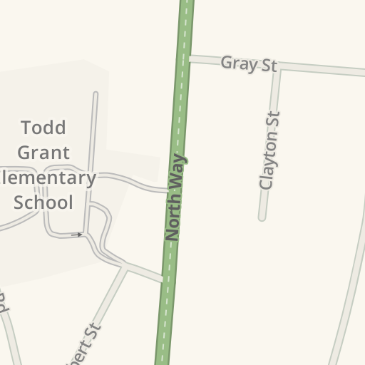 Waze Livemap - Driving Directions to Todd Grant Elementary