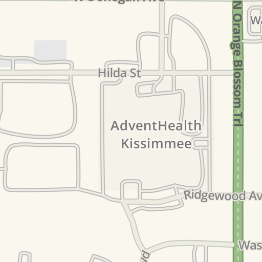 Waze Livemap Driving Directions To Park Place Behavioral Health