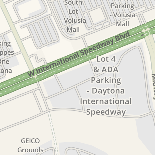 Waze Livemap - Driving Directions to Lot 4 & ADA Parking ... on