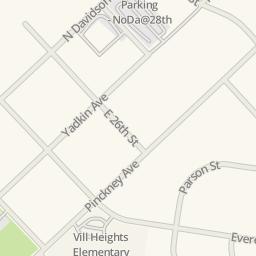 Waze Livemap   Driving Directions To NoDa Storage, Charlotte, United States