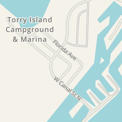 Waze Livemap Driving Directions To Torry Island Campground Marina Belle Glade United States